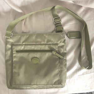 COACH Crossbody Bag Green Large and Lightweight